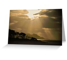 Raglan Sunset, New Zealand Greeting Card