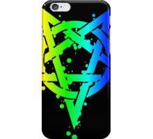 Rainbow Pentagram #2 iPhone Case/Skin