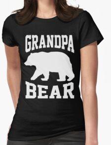 GRANDPA BEAR Womens Fitted T-Shirt
