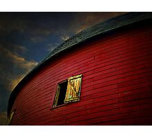 Old Round Barn Photographic Print