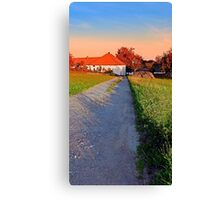 Early summer morning hiking trip | landscape photography Canvas Print