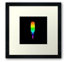 Rainbow Screwdriver Framed Print