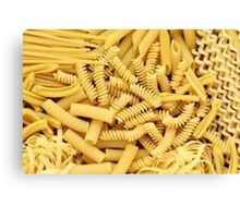 pasta is important Canvas Print