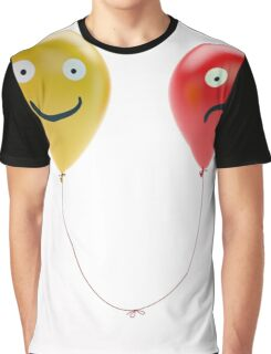 Different Face Graphic T-Shirt