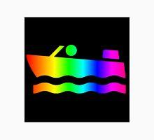 Rainbow Speedboat Unisex T-Shirt