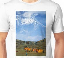 Campsite near Dhaulagiri, Nepal Unisex T-Shirt