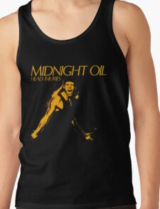 MIDNIGHT OIL,HEAD INJURIES Tank Top