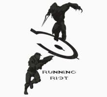 Running Riot  Kids Tee