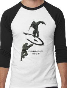 Running Riot  Men's Baseball ¾ T-Shirt