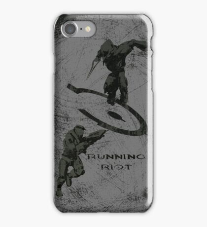 Running Riot  iPhone Case/Skin