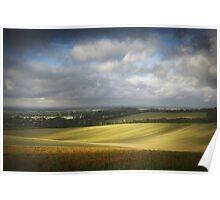 Sussex Downland Poster