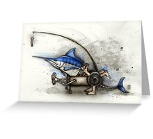 Marlin Machine Greeting Card
