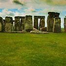 Stonehenge - Degas Style by photograham