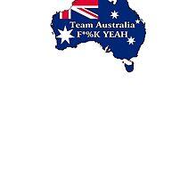 Team Australia - F*%K Yeah by wolfcat