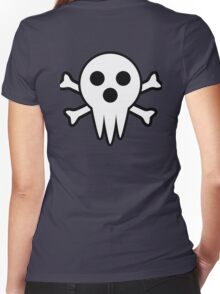 Lord Death Jolly Roger  Women's Fitted V-Neck T-Shirt