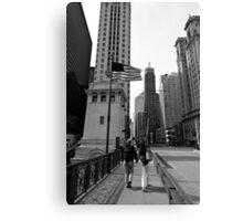 Chicago Stroll - Chicago USA Canvas Print