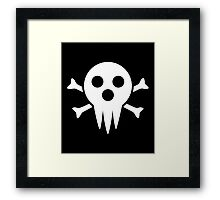 Lord Death Jolly Roger  Framed Print