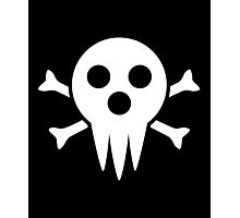 Lord Death Jolly Roger  Photographic Print