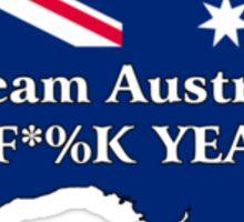 Team Australia - F*%K Yeah Sticker