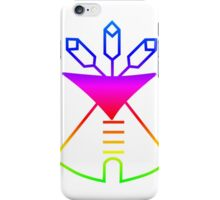 Rainbow Native American iPhone Case/Skin