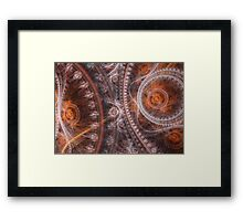 Steampunk time Framed Print