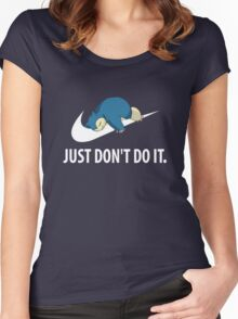 Just dont do it Women's Fitted Scoop T-Shirt