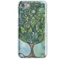 Swirly tree  iPhone Case/Skin