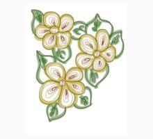 Floral Lemon Peel Kids Tee