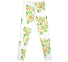 Floral Lemon Peel Leggings