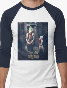 Harley Quinn & The Joker  Men's Baseball ¾ T-Shirt
