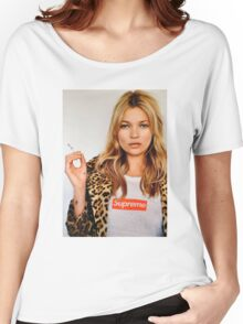Kate Moss Supreme Women's Relaxed Fit T-Shirt