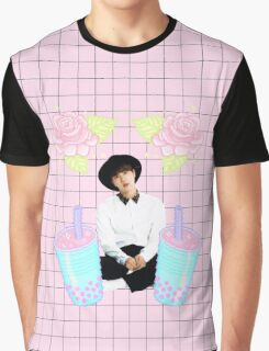 Pastel Jin Graphic T-Shirt