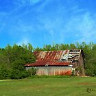 Old Barn on the Backroads of North Carolina by BCallahan