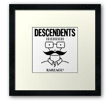 The Descendents Rareage Framed Print