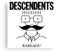 The Descendents Rareage Canvas Print