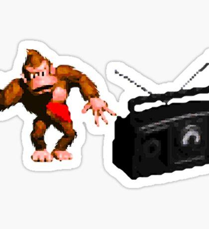 Donkey Kong Country - Rockin' Out Sticker