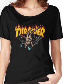 Thrasher Diamond Supply Women's Relaxed Fit T-Shirt