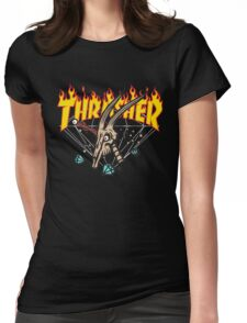 Thrasher Diamond Supply Womens Fitted T-Shirt