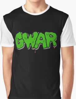 Gwar Monster Green Slime Graphic T-Shirt
