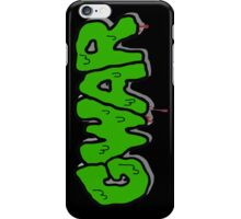 Gwar Monster Green Slime iPhone Case/Skin