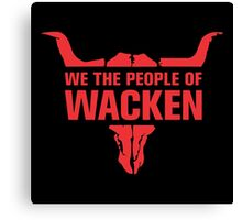 People of Wacken Canvas Print