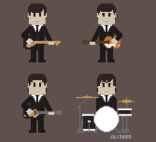 8-Bit Fab Four by AlCreed
