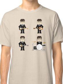 8-Bit Fab Four Classic T-Shirt