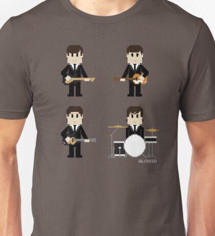 8-Bit Fab Four Unisex T-Shirt