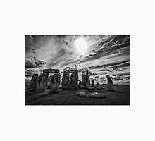 Stonehenge  in Monochrome Unisex T-Shirt