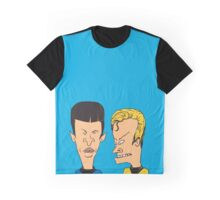 Star Trek - Beavis and Butthead Parody Graphic T-Shirt