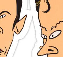 Star Trek - Beavis and Butthead Parody Sticker