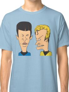 Star Trek - Beavis and Butthead Parody Classic T-Shirt