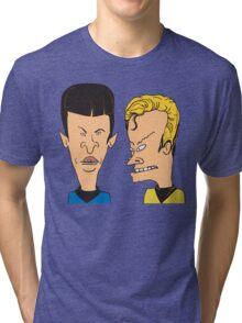 Star Trek - Beavis and Butthead Parody Tri-blend T-Shirt
