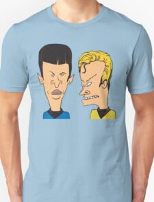 Star Trek - Beavis and Butthead Parody Unisex T-Shirt